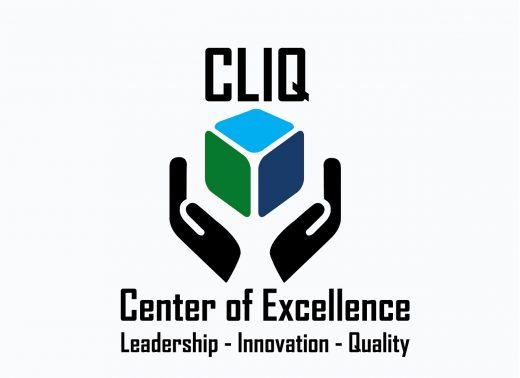 CLIQ logowhite-BG